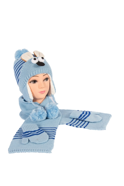 Bebek Takım 5003 Mavi (3 lü Paket)
