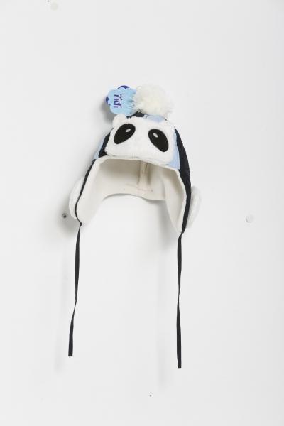 Koala Desenli Lacivert Mavi Çocuk Bere