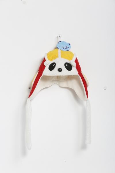 Pandalı Kırmızı Çocuk Bere