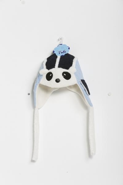 Pandalı Lacivert Mavi Çocuk Bere