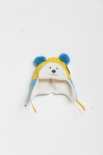 Kutup Ayısı Sarı Lacivert Çocuk Bere