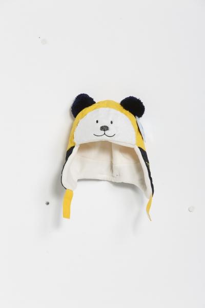 Kutup Ayısı Sarı Siyah Çocuk Bere