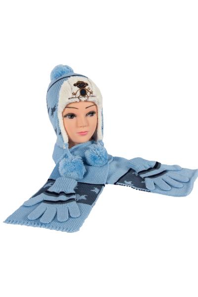 Çocuk Takım 5101 Mavi (3 lü Paket)