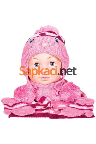 Maskotlu Gülkurusu Bebek Takım