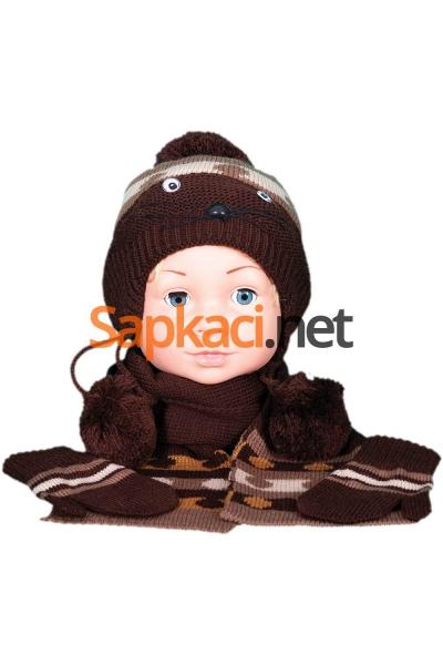 Maskotlu Kahve Bebek Takım