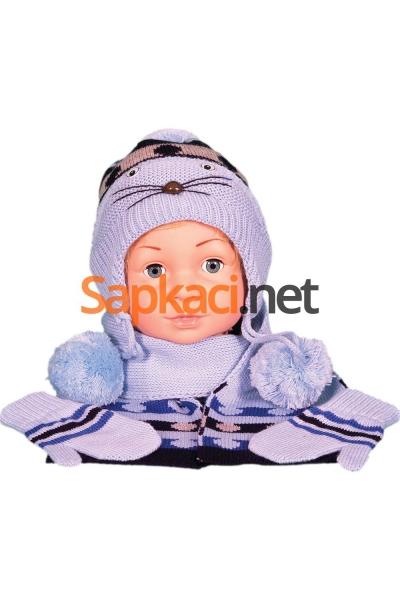 Maskotlu Mavi Bebek Takım