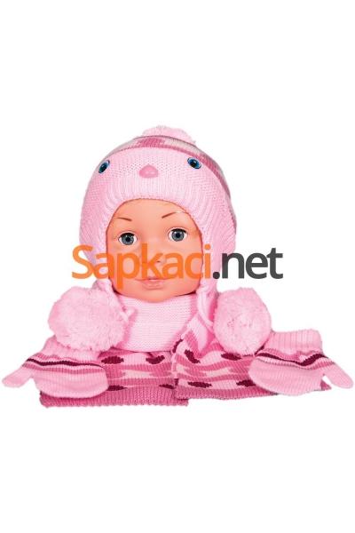 Maskotlu Pembe Bebek Takım