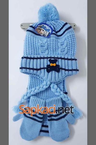 Lora Mavi Bebek Takım